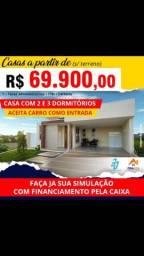 Construa sua casa a partir de R$: 69.900,00
