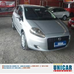 Fiat Punto Attractive 1.4 2012 prata completo