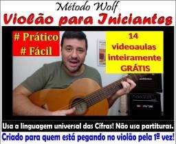 Aprenda VIOLÃO em nosso Canal no Youtube - Videoaulas Gratuitas