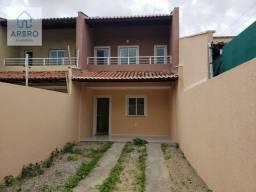 Casa duplex nova com 2 dormitórios à venda, 82 m² por R$ 145.000 - Ponta da Serra - Itaiti