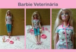 Título do anúncio: Boneca Barbie Veterinária