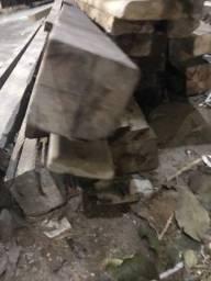 Título do anúncio: Lote de vigas de madeira de demolição