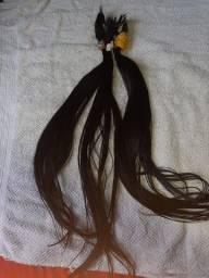 Vendo cabelo humano R$300