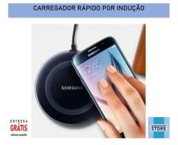 Carregador rápido sem fio por indução Samsung Wireless - Entrega Grátis