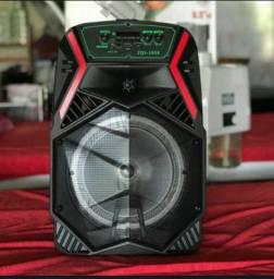 Caixa de Som Bluetooth Amplificada Super Potente