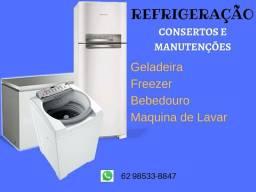 Refrigeração (CONSERTOS)