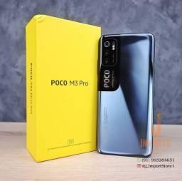 """Poco M3 Pro 5G, 6GB RAM/128GB ROM """"CAIXA LACRADA""""em 12× sem juros."""