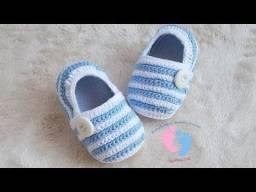 Título do anúncio: Sapatinhos de crochê para bebe
