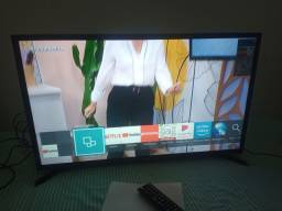 Smart tv 32 pol Samsung nova com nota fiscal e garantia