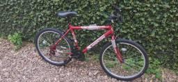 Bicicleta de marcha nova