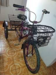 Título do anúncio: Triciclo feminino adulto