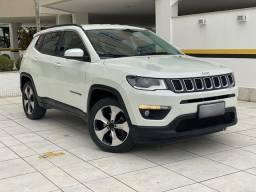 Jeep Compass Longitude 2018, IMPECÁVEL, baixo km, ipva pago!