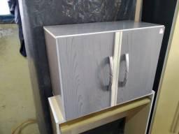 Armário de parede 2 portas cor : cinza