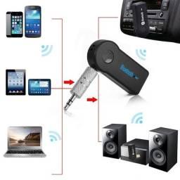 Receptor Car Bluetooth BT- Receiver para Músicas Saída Auxiliar P2 Usb