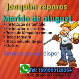 Joaquim reparos marido de aluguel