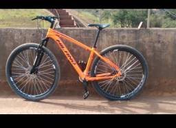 Bicicleta Track Bike Aro 29 TKS Mountain Bike Laranja