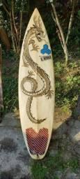 Prancha de surf de quilha