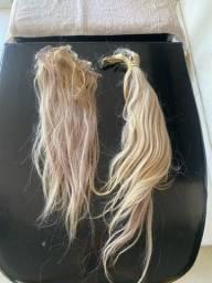 Cabelo loiro mega hair