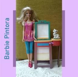 Título do anúncio: Barbie Pintora