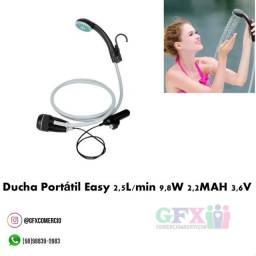 EASY ( ducha portátil  2,5l / por min 9,8 W  2,2 mah  3,6 v)