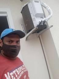 Técnico em instalação e conserto de ar condicionado