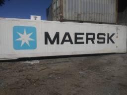 Container Reefer com maquinário 40 HC