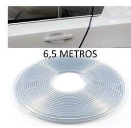 Borracha Protetor Borda Porta Universal 6,5 Metros Incolor
