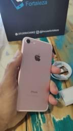 iPhone 7 128gb ,rose ,  por 1290R$ ou 10x 140,05R$