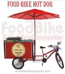 Food bike com nota fiscal
