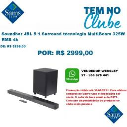 Título do anúncio: Soundbar JBL 5.1 Surround tecnologia MultiBeam 325W RMS 4k, Bluetooth