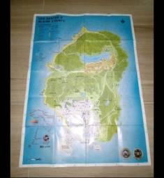 Mapa GTA 5 original do jogo