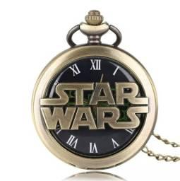 Relógio de Bolso Star Wars - Produto Novo