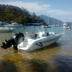 Lancha Sea Wolf 21 pes 90 hp - 2010