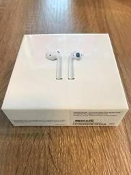 Fone De Ouvido Sem Fio Apple Airpods Wireless Novo Original - Lacrado