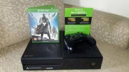 Xbox One + 2 Jogos + Live Modelo Brasileiro