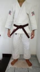 Kimono Atama Branco A2 (Grande)