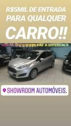 Ford/NEW FIESTA TITANIUM AUTOMÁTICO 2015 SHOWROOM AUTOMÓVEIS - 2015