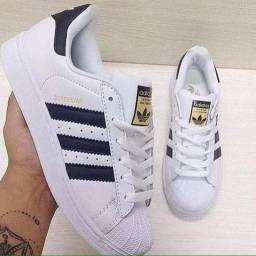 Tenis adidas superstar importado do momento