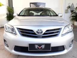 Toyota Corolla 1.8 Xli 2012/2013 Prata - 2013
