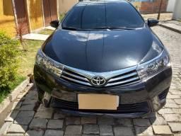 Toyota Corolla GLI Upper Black P. 1.8 Aut. 2017 Único Dono - 2017