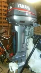 Motor de popa yamaha 15HP - 2008