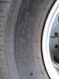 Pneu de caminhão aro 16 com roda