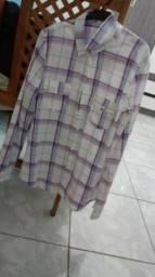 Camisa Xadrex Feminina