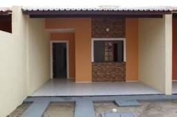 Casa com doc. grátis: 02 quartos, 02 wcs, ampla sala, varanda, garagem, excelente acabamen