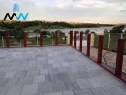 Chácara com 7 dormitórios à venda, 2500 m² por r$ 1.200.000 - zona rural - acreúna/go