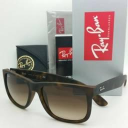 Óculos da RayBan Justin Marrom ou Preto