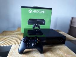 Xbox one 500 gb com caixa + controle original