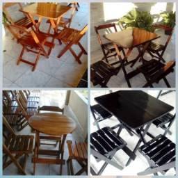 Fabricamos mesas e cadeiras dobráveis