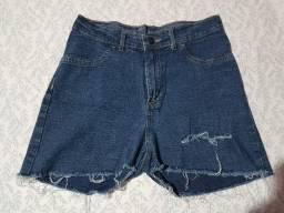 Bermuda pool tamanho 42 pequeno jeans com elastano