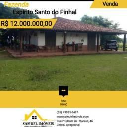 Fazenda de 100,00 Alqueires em Espírito Santo do Pinhal / SP 1079
